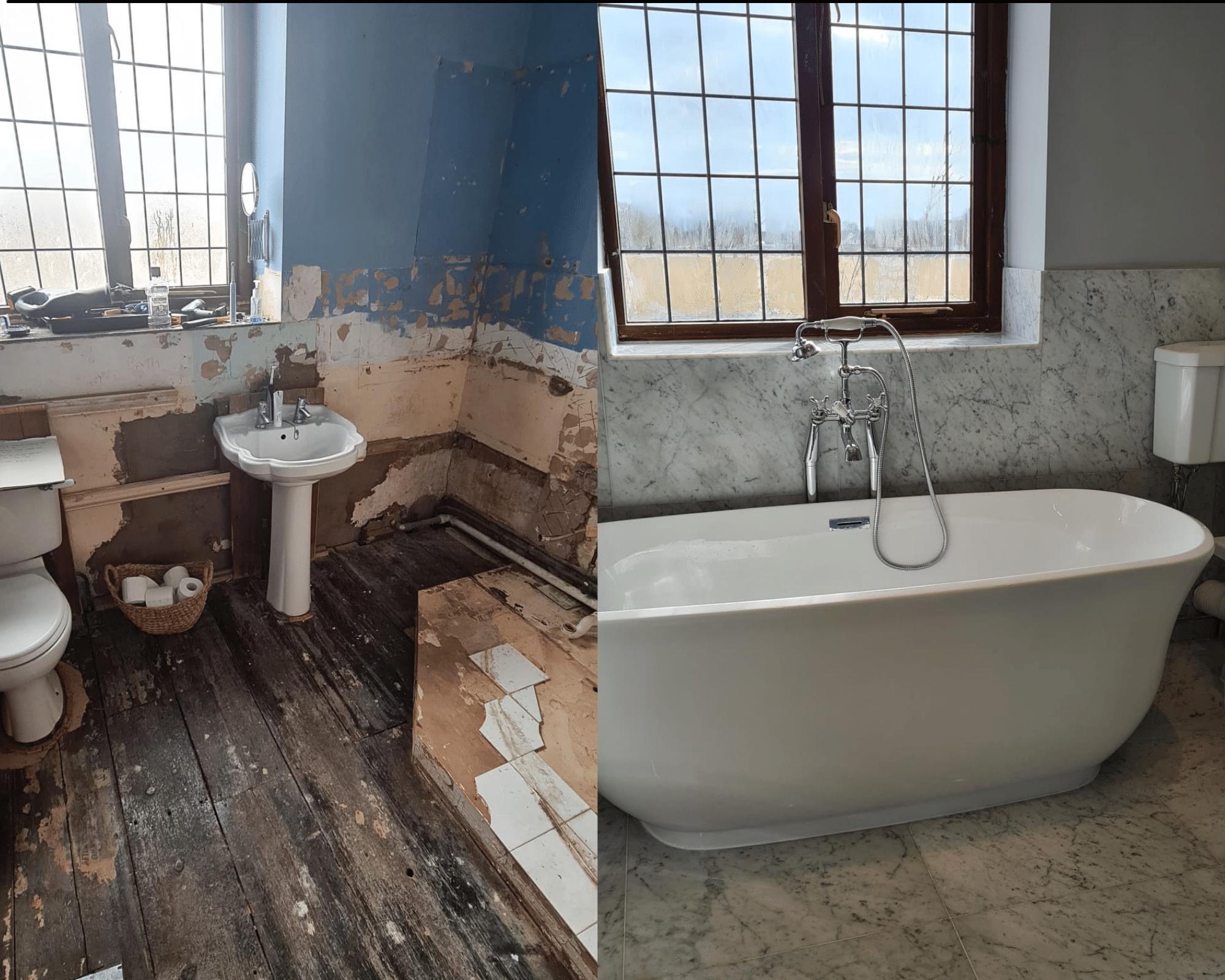 Customer story bathroom fitting wr2