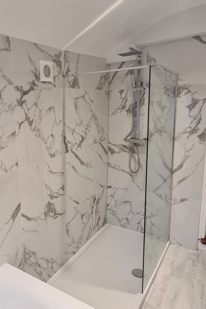 bathroom fitters shower