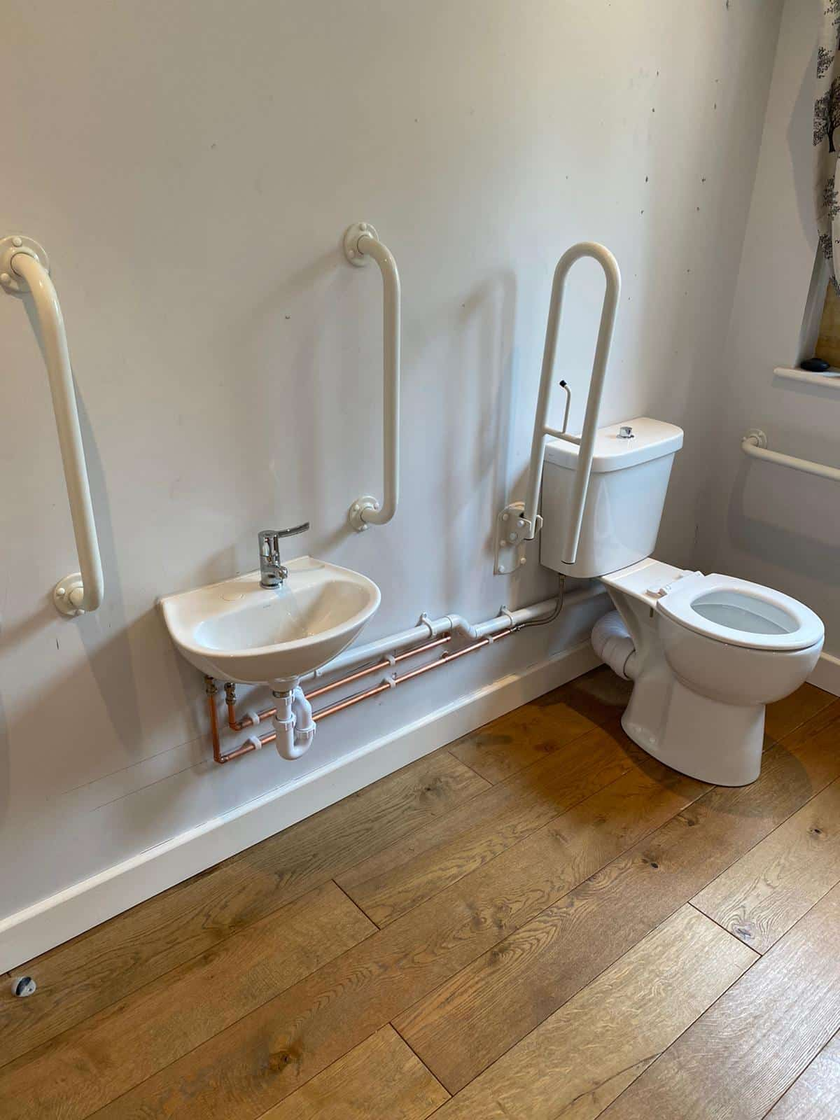 Care home bathroom fitting worcester